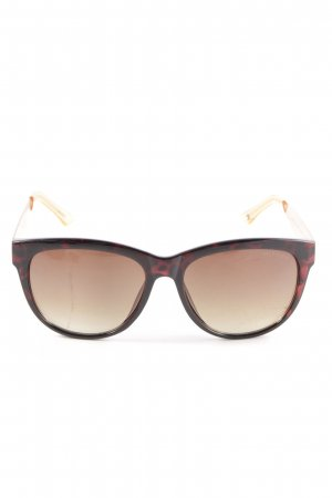 Hilfiger Butterfly Glasses gold-colored-brown animal pattern casual look