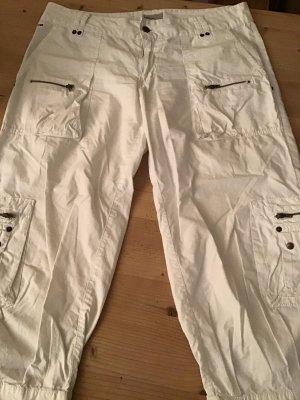 Hilfiger Denim Pantalon cargo blanc coton