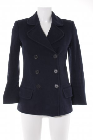 Hilfiger Collection Cabanjacke dunkelblau Business-Look