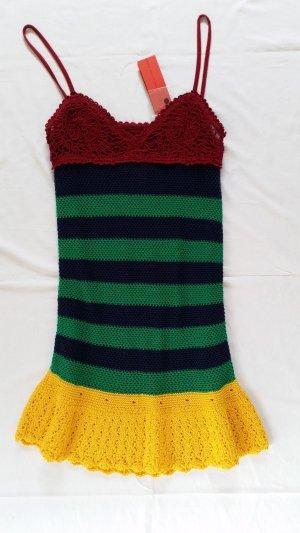 Hilfiger Collection, Kleid, Baumwolle, mehrfarbig, gestreift, M, neu