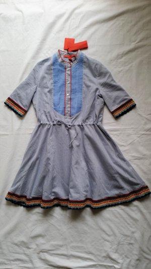 Hilfiger Collection, Kleid, blau-weiß gestreift, 34/36 (US 4), neu, RRP € 790,-