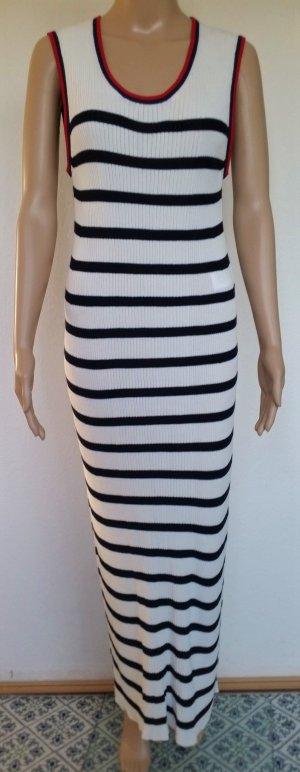 Hilfiger Collection, Kleid, marine-weiß gestreift, 34 (US 4), neu