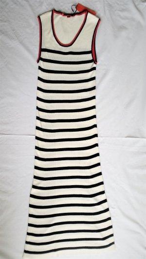 Hilfiger Collection, Kleid, marine-weiß gestreift, 34, Viskose/Baumwolle, neu