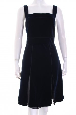 "Hilfiger Collection Kleid ""Velvet Pinafore"" dunkelblau"