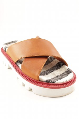 Hilfiger Collection Komfort-Sandalen Streifenmuster Beach-Look