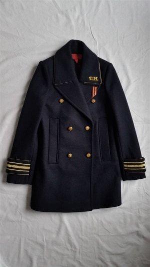Hilfiger Collection, Military Peacoat, marine, 34 (US 4), neu