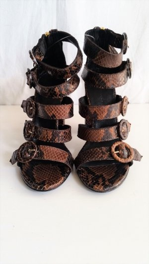 Hilfiger Collection, Pumps, Python, braun, 37, neu