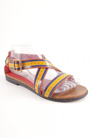Hilfiger Collection Riemchen-Sandalen mehrfarbig Casual-Look