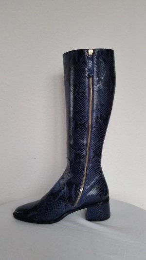 Hilfiger Collection, Stiefel, blau, Leder, EU 37, neu, € 750,-
