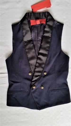 Hilfiger Collection, Twill Waistcoat, navy, 34 (US 4), neu, € 390,-