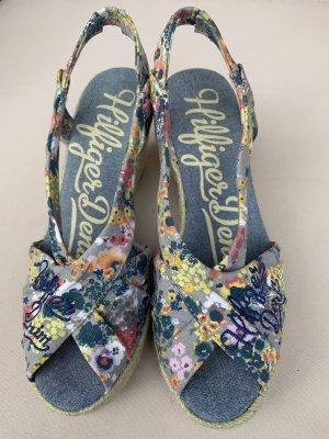Hilfiger Denim Platform High-Heeled Sandal multicolored