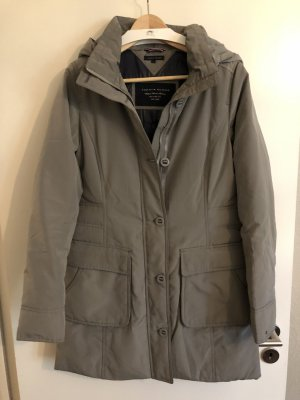 Tommy Hilfiger Down Coat silver-colored-grey