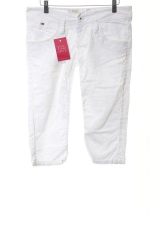 Hilfiger Denim 3/4-jeans wit casual uitstraling