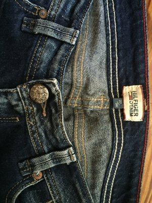 Hilfiger Jeans taille basse multicolore coton