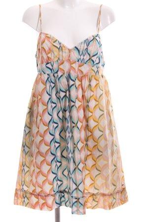 Hilfiger Denim A-Linien Kleid grafisches Muster Casual-Look