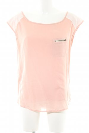 Hilfiger Denim ärmellose Bluse rosé Casual-Look