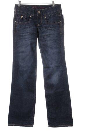 Hilfiger Denim Jeans baggy bleu foncé style simple