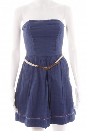 Hilfiger Denim Vestido bandeau multicolor look casual