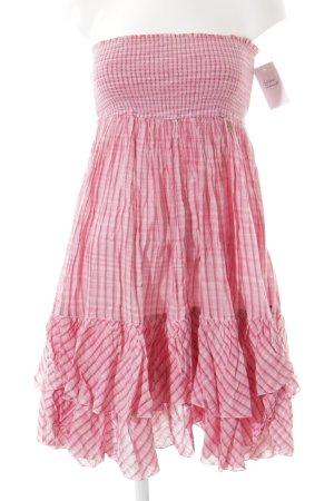 Hilfiger Denim Vestido bandeau rosa-magenta estampado a rayas