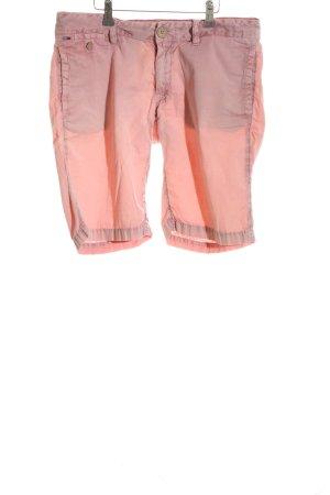 Hilfiger Denim Bermuda roze casual uitstraling