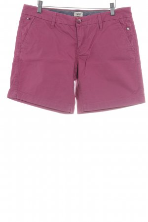 Hilfiger Denim Bermuda magenta Casual-Look