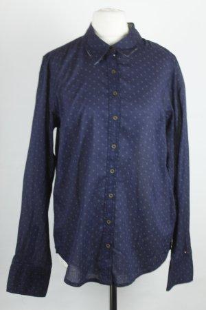 Hilfiger Denim Bluse Hemd Gr. M dunkelblau