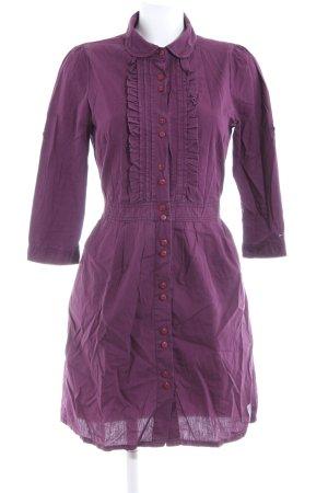 Hilfiger Denim Blusenkleid lila Business-Look