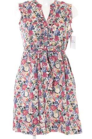 Hilfiger Denim Blusenkleid Blumenmuster Casual-Look