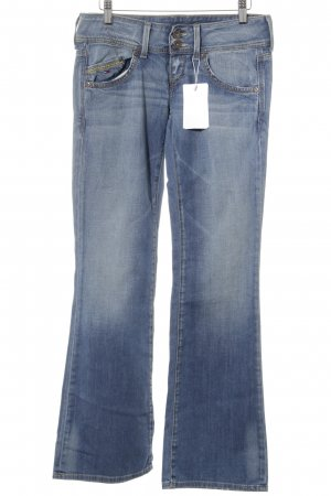 Hilfiger Denim Boot Cut Jeans blau Jeans-Optik