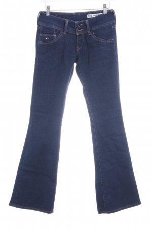 Hilfiger Denim Boot Cut Jeans dunkelblau Country-Look