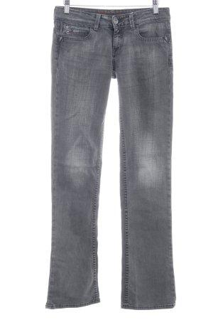 Hilfiger Denim Boot Cut Jeans dunkelgrau Jeans-Optik