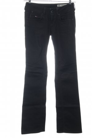 Hilfiger Denim Boot Cut Jeans schwarz Casual-Look