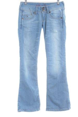 Hilfiger Denim Boot Cut Jeans azure distressed style