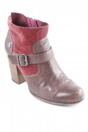 Hilfiger Denim Booties braun-dunkelrot Casual-Look