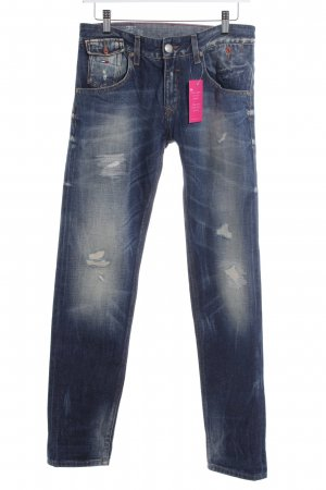 Hilfiger Denim Boyfriendjeans blau Casual-Look