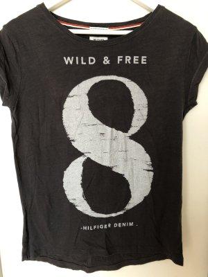 Tommy Hilfiger Denim T-shirt taupe
