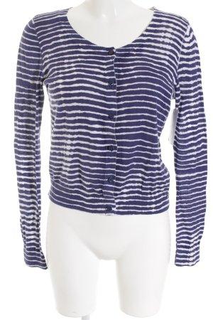 Hilfiger Denim Cardigan weiß-blau Streifenmuster Street-Fashion-Look