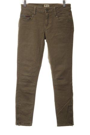 Hilfiger Denim Pantalon cargo kaki style décontracté