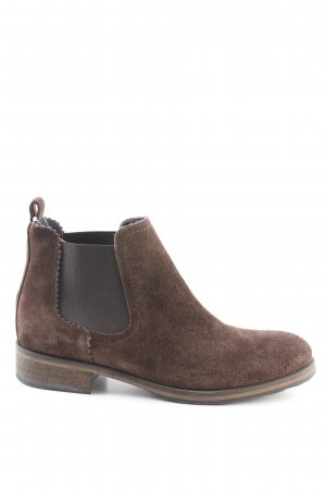 Hilfiger Denim Chelsea Boots brown casual look