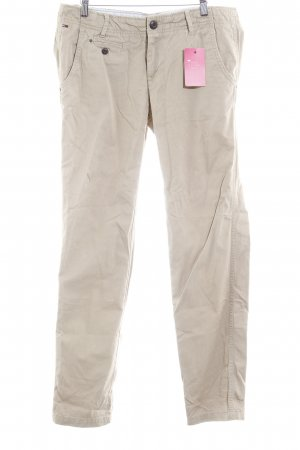Hilfiger Denim Pantalon chinos beige style décontracté