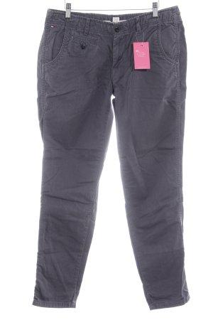 Hilfiger Denim Pantalon chinos gris ardoise style décontracté