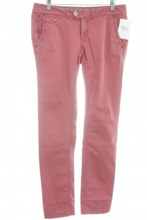 Hilfiger Denim Chinohose hellrot Casual-Look