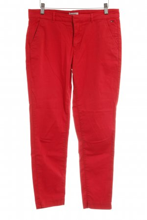 Hilfiger Denim Pantalon chinos rouge style décontracté
