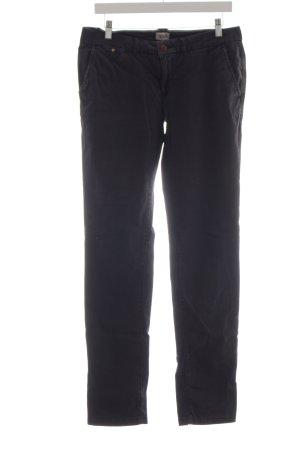 Hilfiger Denim Pantalon chinos noir style simple