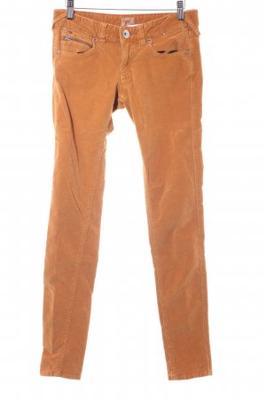 Hilfiger Denim Cordhose dunkelorange Country-Look