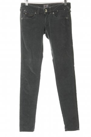 Hilfiger Denim Corduroy broek groen-grijs-zilver casual uitstraling