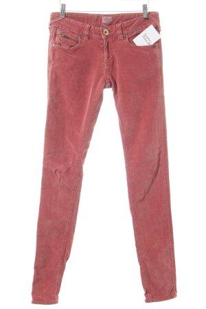 Hilfiger Denim Pantalon en velours côtelé rouge clair style des années 70