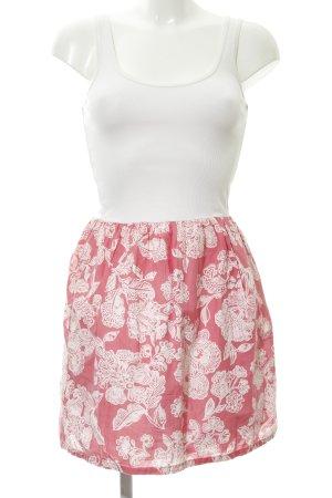 Hilfiger Denim Etuikleid wollweiß-rosa florales Muster Beach-Look