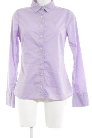 Hilfiger Denim Hemd-Bluse lila Business-Look