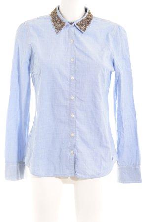 Hilfiger Denim Hemd-Bluse himmelblau Casual-Look